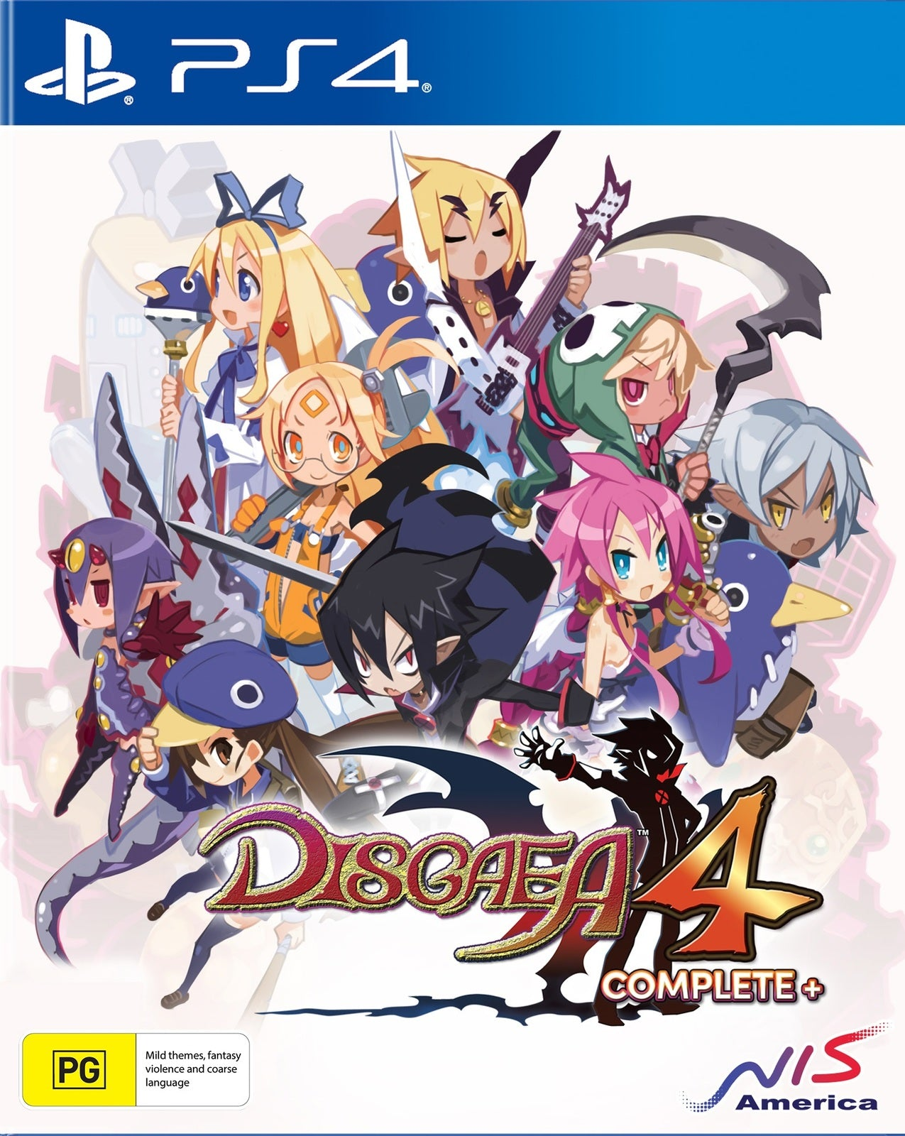Disgaea 4 Complete+ Day One Edition - PS4