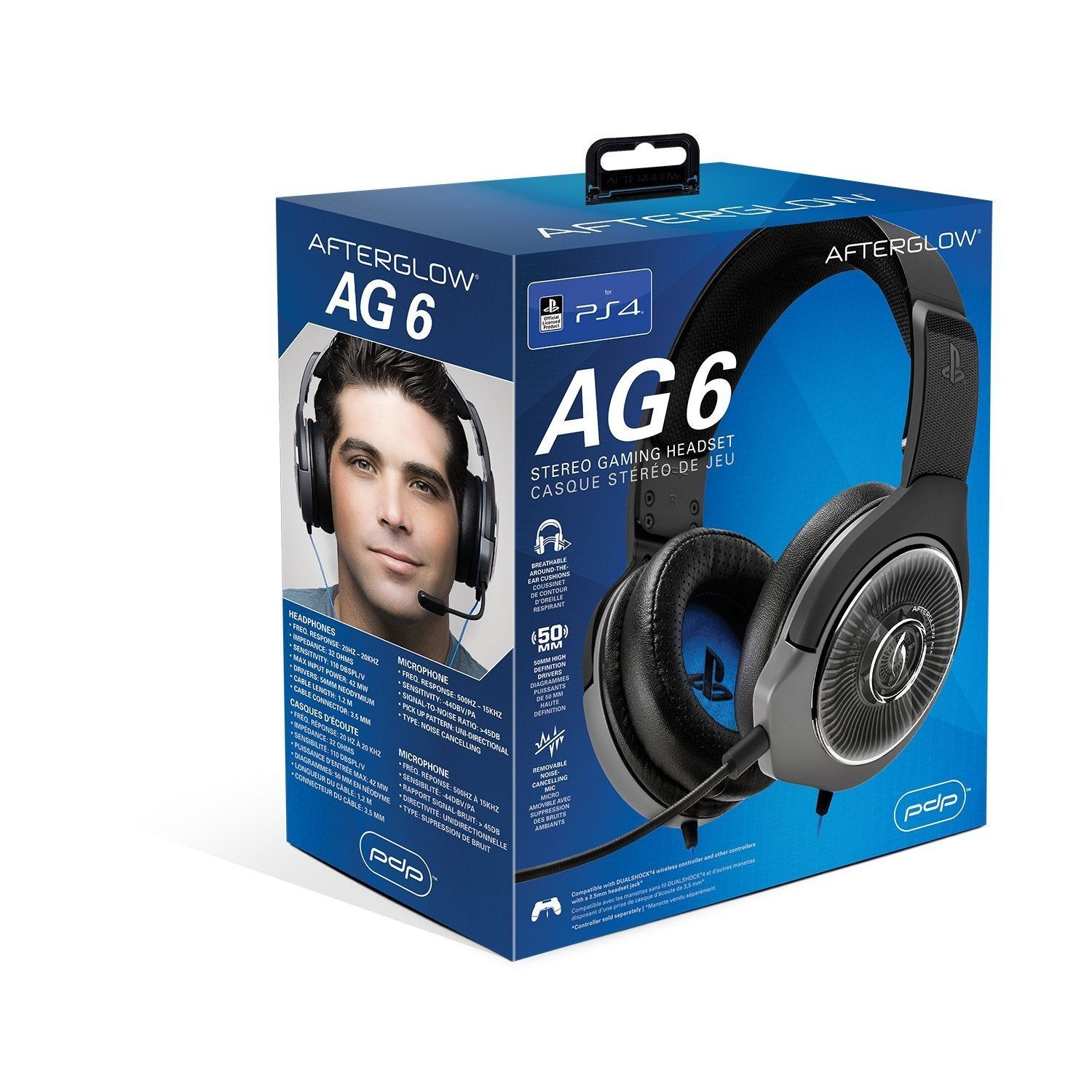 Afterglow AG 6 Licensed Wired Headset - PS4
