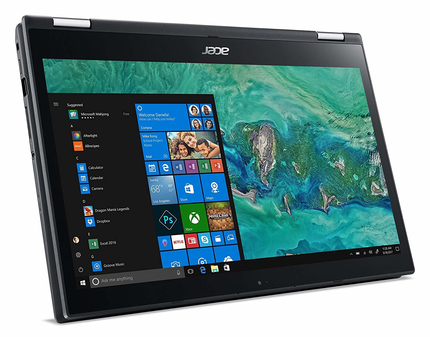 "Acer Spin 3 14"" i5 4GB RAM 128GB SSD Touch Flip"