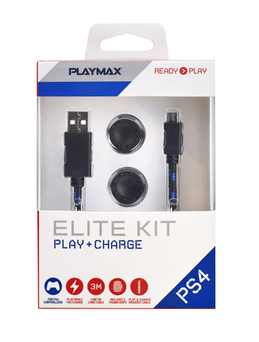 Playmax PS4 Play & Charge Elite Kit - PS4