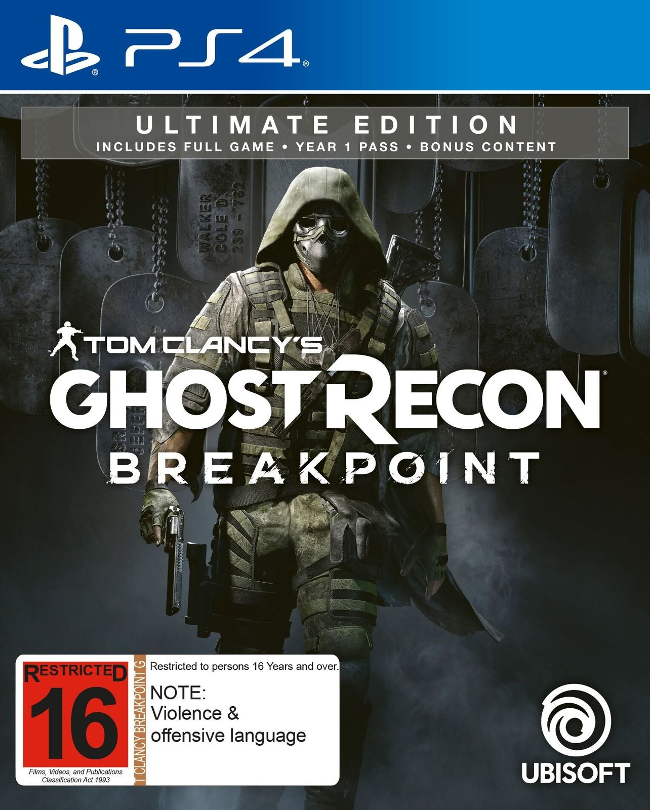 Tom Clancy's Ghost Recon Breakpoint Ultimate Edition - PS4