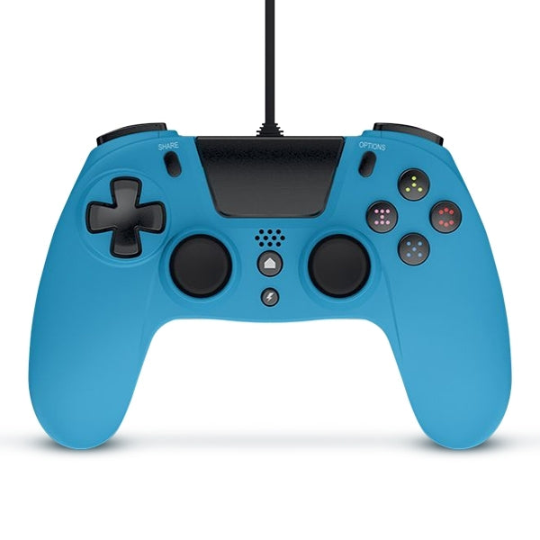 Gioteck VX-4 Wired Controller (Blue) - PS4