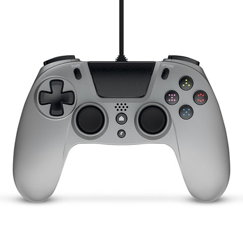 Gioteck VX-4 Wired Controller (Silver) - PS4