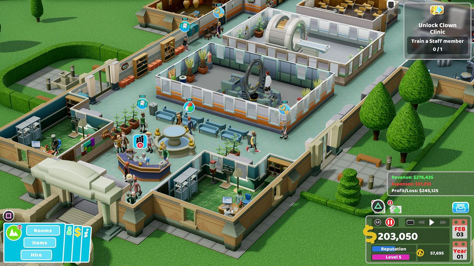 Two Point Hospital - Nintendo Switch