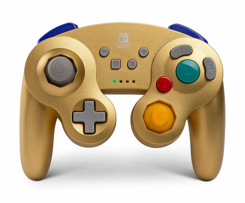 Nintendo Switch Wireless GameCube Controller - Gold Metalic - Nintendo Switch