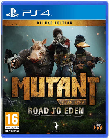 Mutant Year Zero: Road to Eden Deluxe Edition - PS4