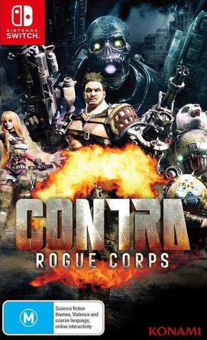 Contra Rogue Corps - Nintendo Switch