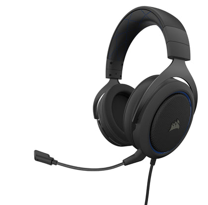 Corsair HS50 Pro Gaming Headset (Blue) - PC Games