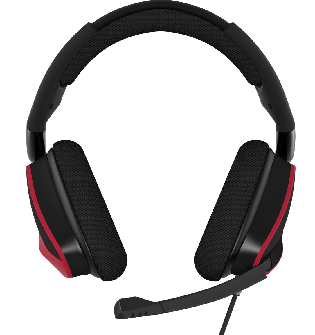 Corsair Void Elite Surround Gaming Headset (Red) - PC Games