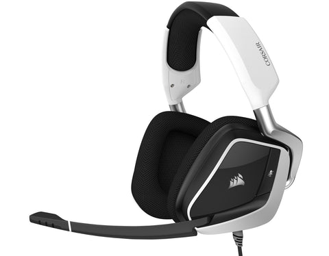 Corsair Void Elite RGB USB Gaming Headset (White) - PC Games