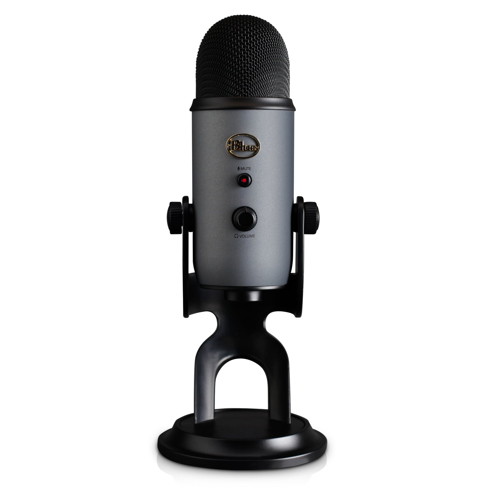 Blue Microphones Yeti Multi-Pattern USB Microphone (Slate) - PC Games