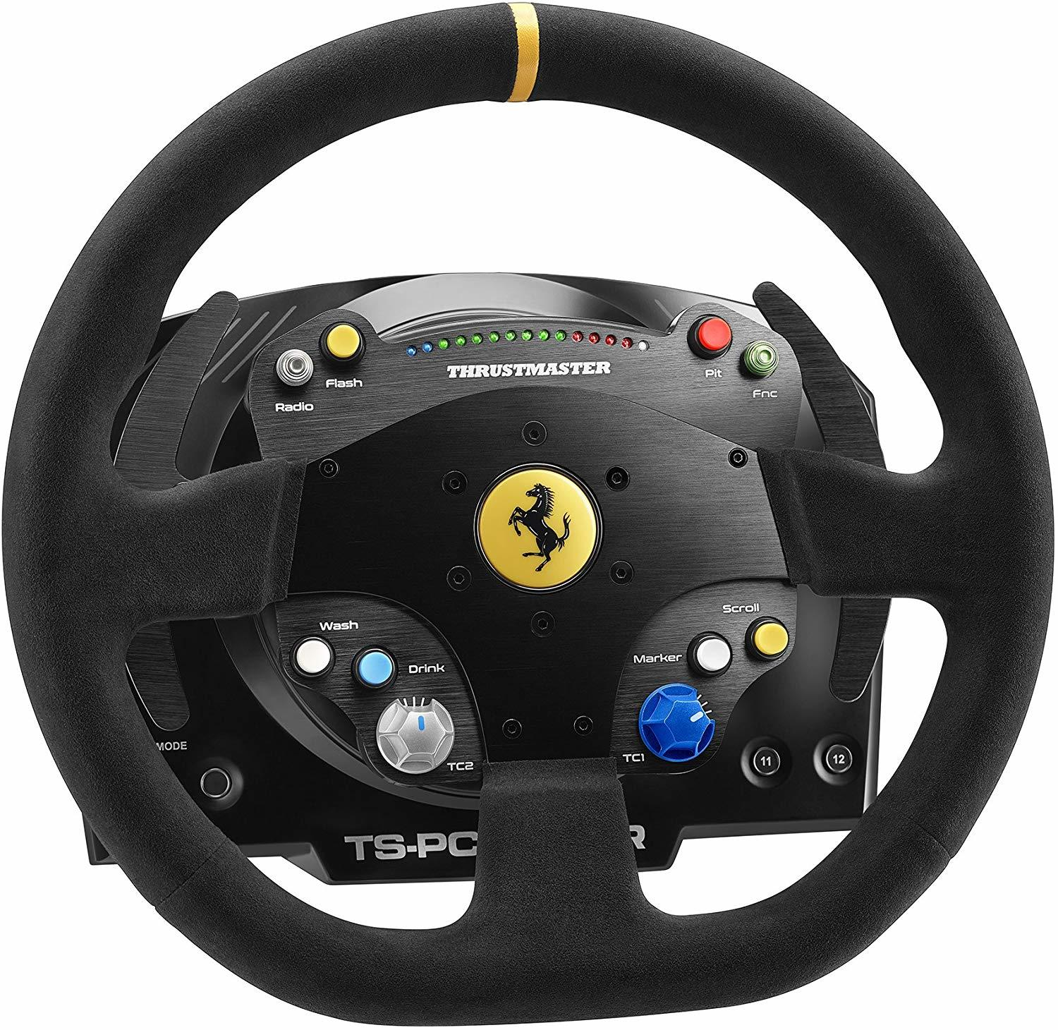 Thrustmaster TS-PC Racer Ferrari 488 Challenge Edition Wheel - PC Games