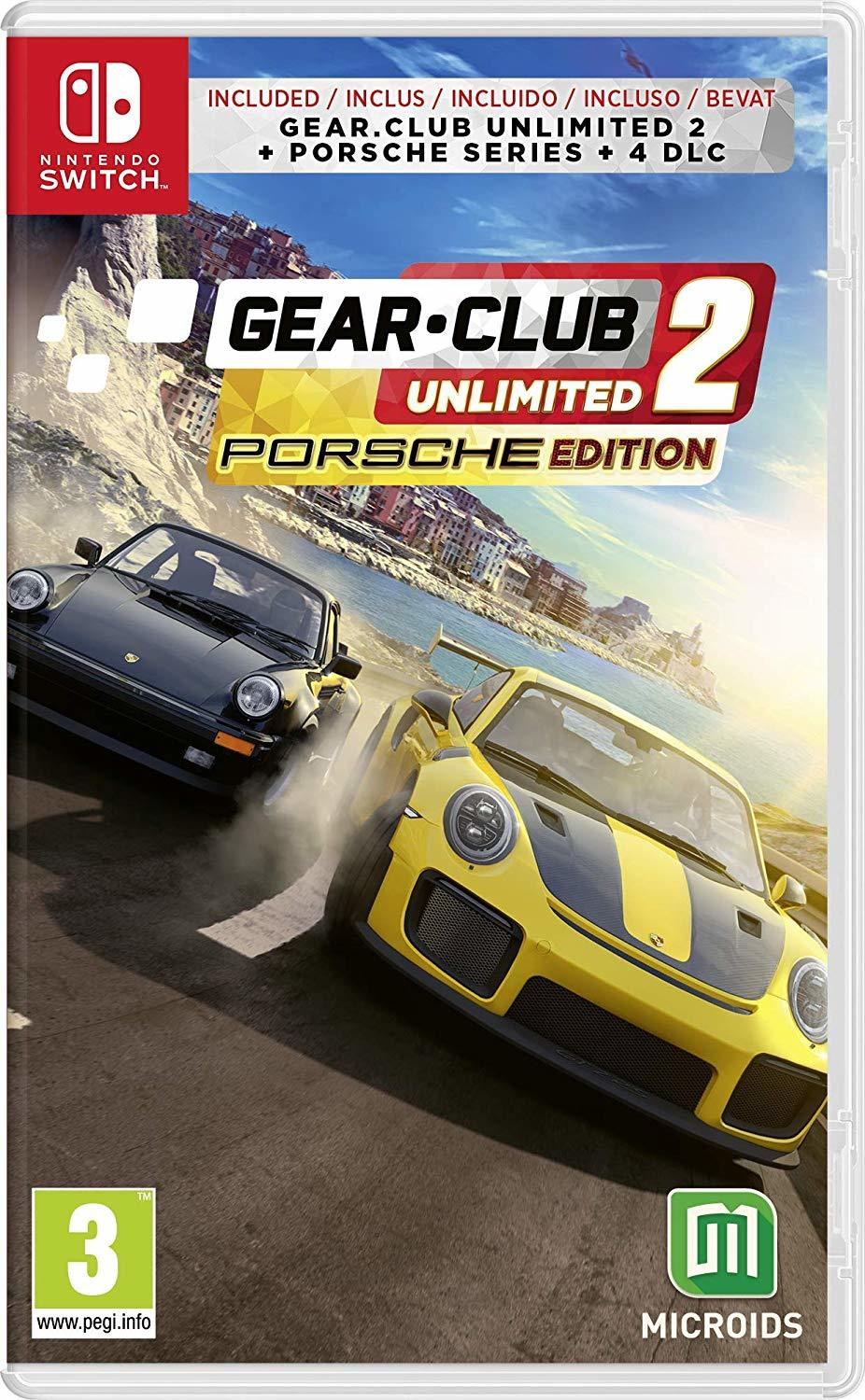 Gear Club Unlimited 2 Porsche Edition - Nintendo Switch