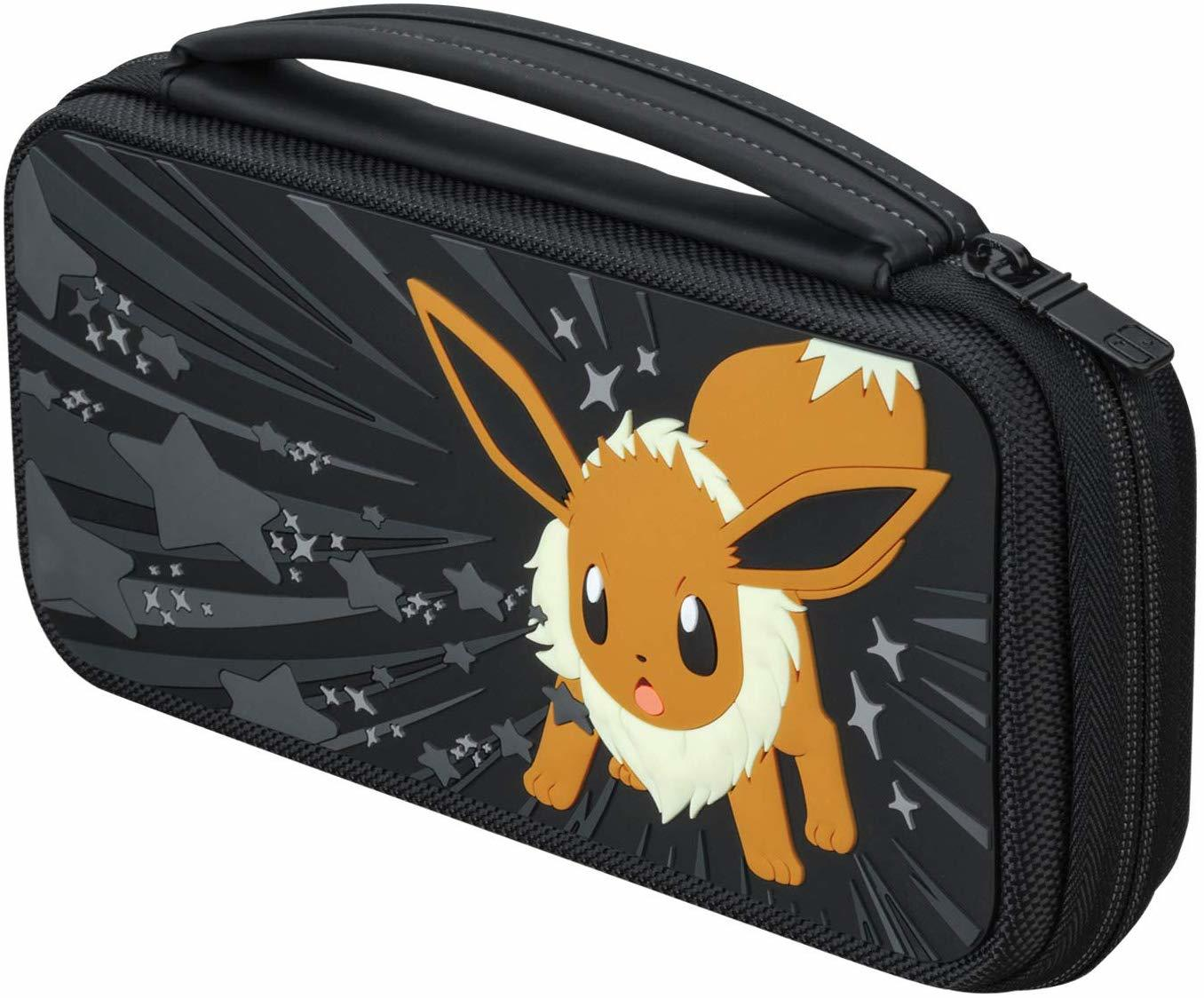 PDP Switch Travel Case - Eevee Greyscale - Nintendo Switch