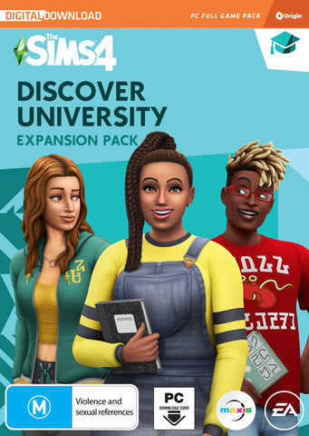 The Sims 4 Discover University (code in box) - PC Games