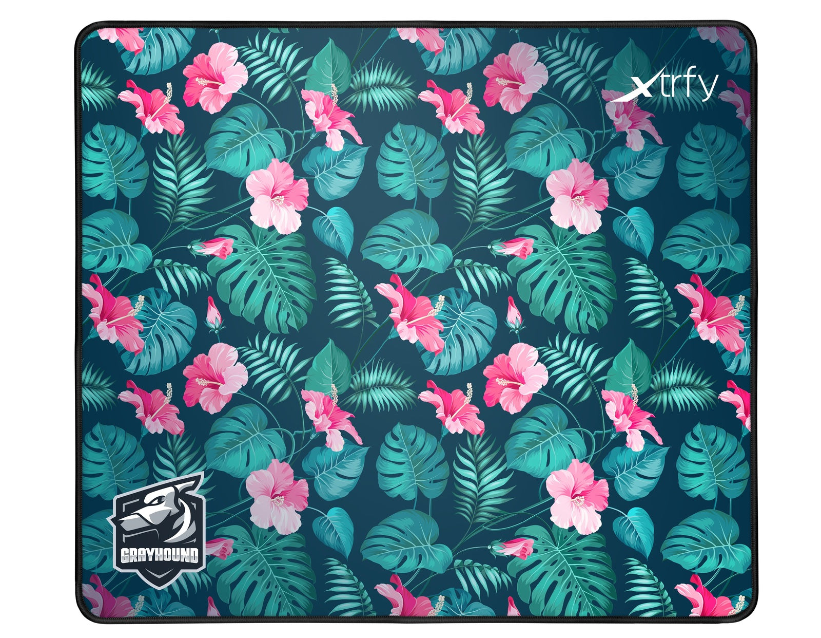 XTRFY GP1 Gaming Mousepad - Large Grayhound Tropical - PC Games