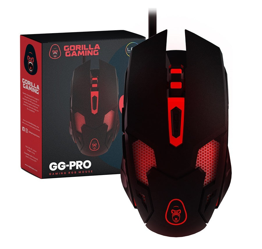 Gorilla Gaming Pro RGB Gaming Mouse - PC Games