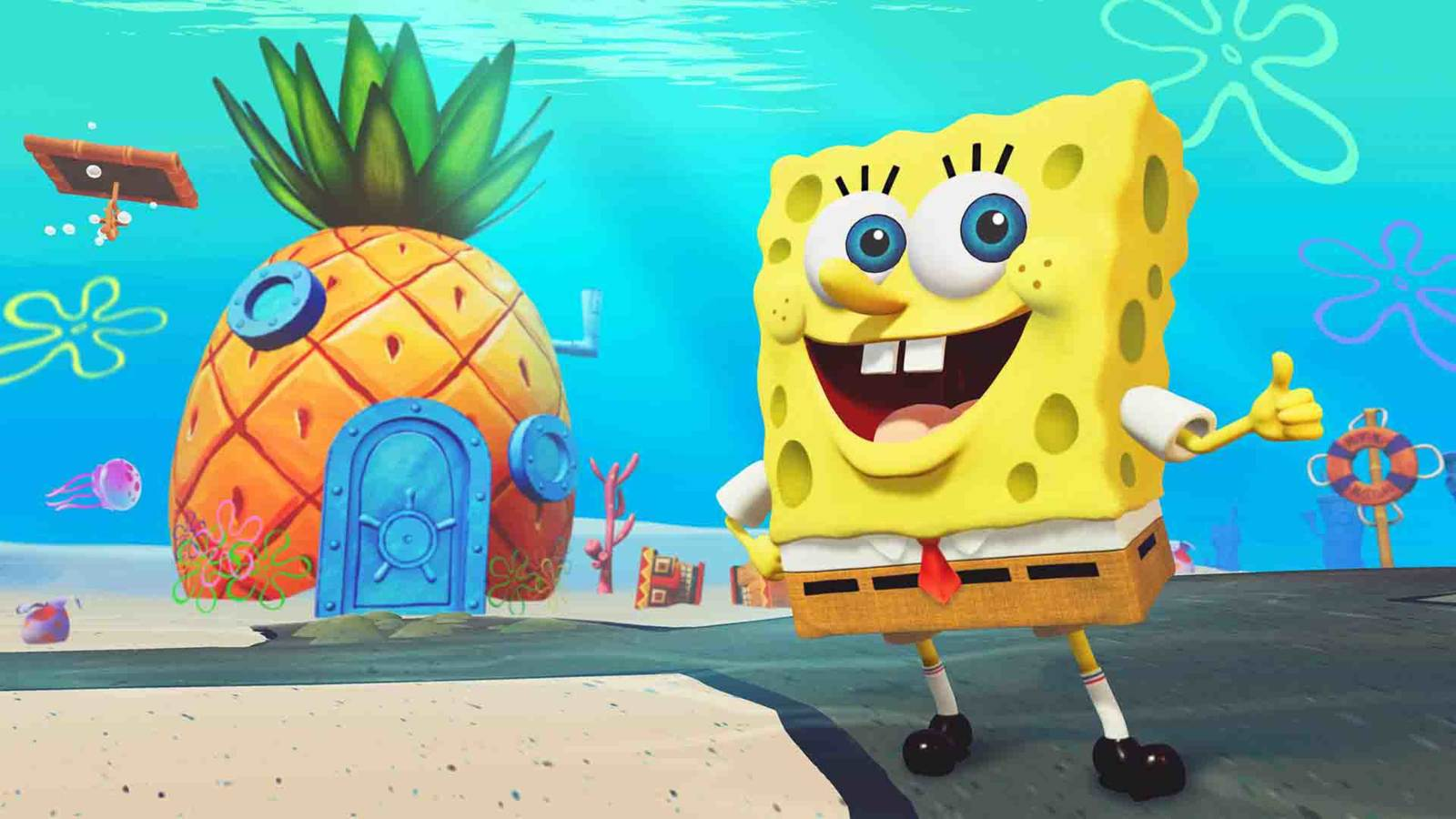 SpongeBob Squarepants: Battle for Bikini Bottom Rehydrated - PS4