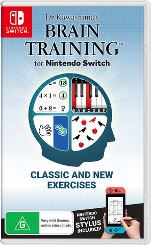 Dr Kawashima's Brain Training for Nintendo Switch - Nintendo Switch