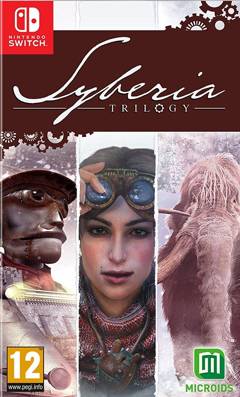 Syberia Trilogy - Nintendo Switch