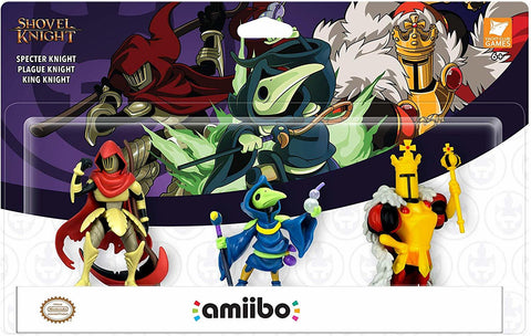 Nintendo Amiibo Shovel Knight: Treasure Trove 3 Pack - Nintendo Switch