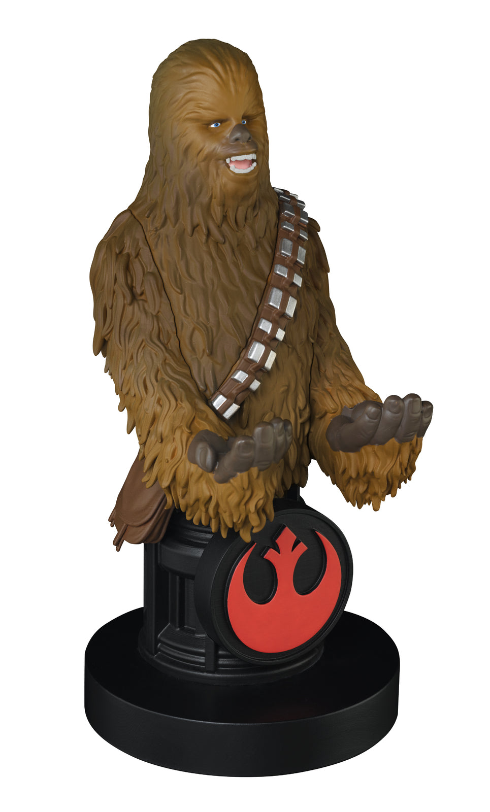 Cable Guy Controller Holder - Chewbacca on Plinth - PS4