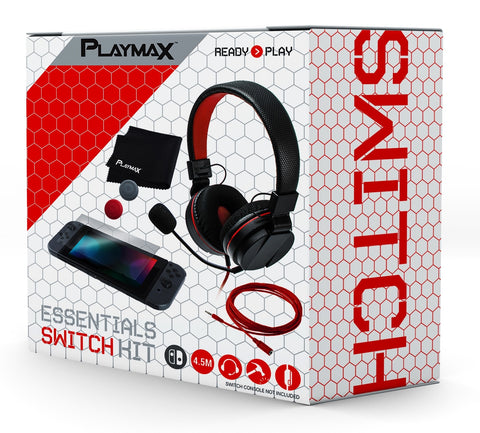 Playmax Nintendo Switch Essential Pack - Nintendo Switch