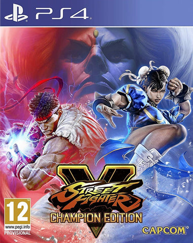 Street Fighter V Champion Edition - PS4