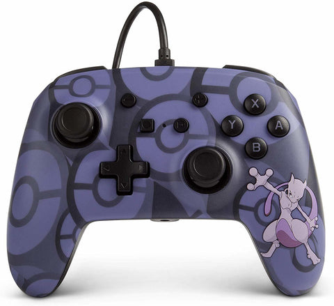 Nintendo Switch Wired Controller - Mewtwo - Nintendo Switch
