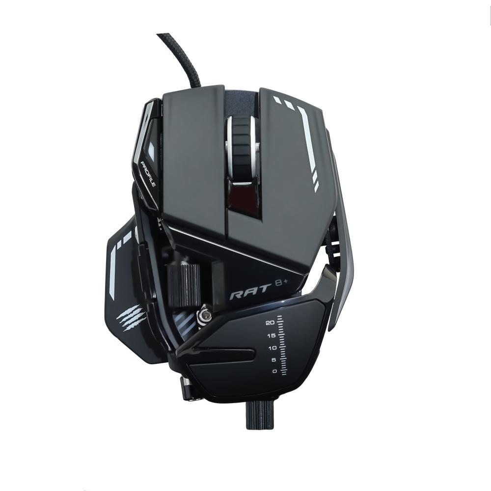 Mad Catz R.A.T. 8+ Gaming Mouse (Black) - PC Games
