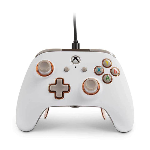 PowerA Fusion Pro Wired Controller for Xbox One - White - Xbox One
