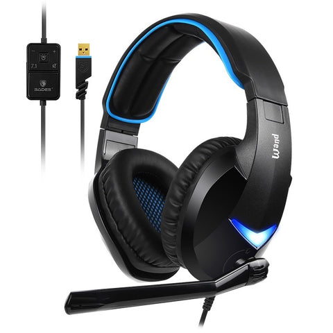 SADES Wand Gaming Headset - PC Games