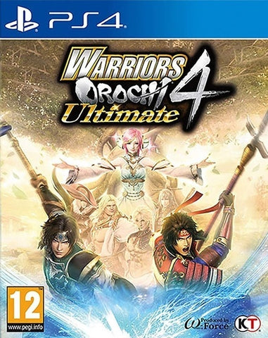 Warriors Orochi 4 Ultimate - PS4