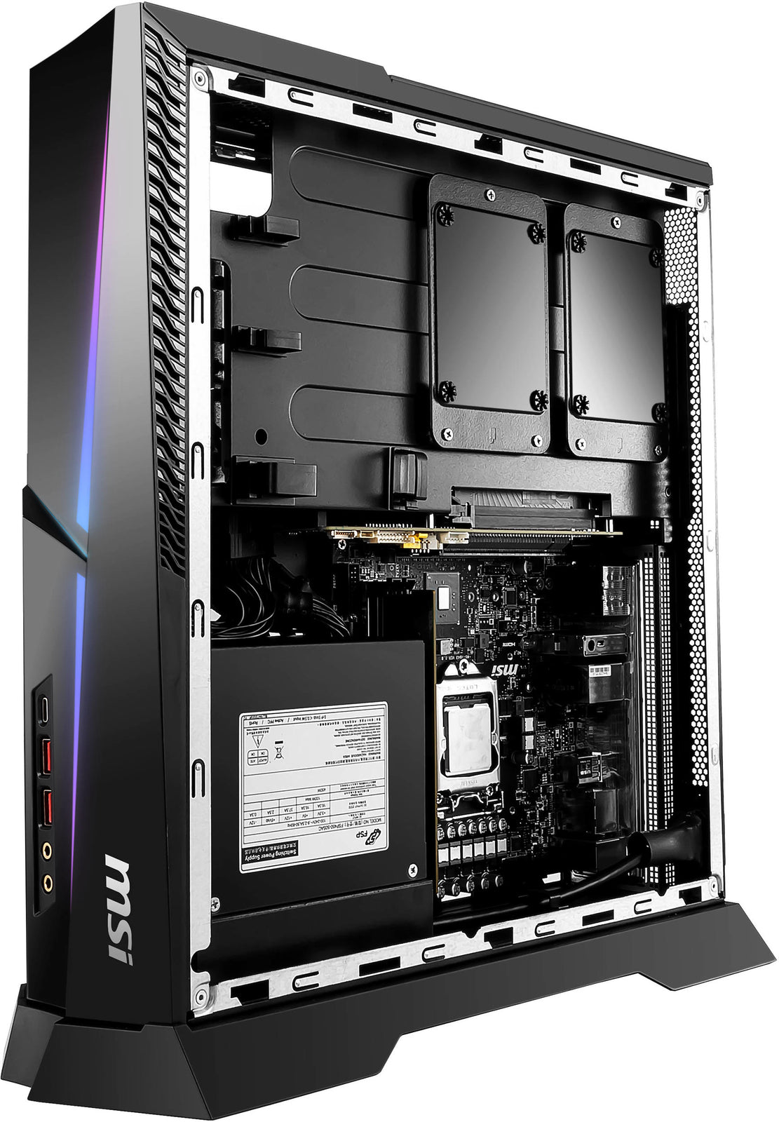 MSI Trident X Plus 9th i9 32GB 2080 TI 2TB Gaming Desktop