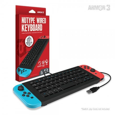 Hyperkin NuType Wired Keyboard for Switch - Nintendo Switch