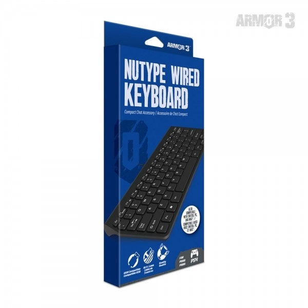 Hyperkin NuType Wired Keyboard for PS4 - PS4