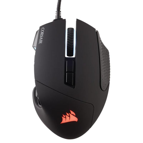 Corsair Scimitar Elite RGB MMO Gaming Mouse - Black - PC Games