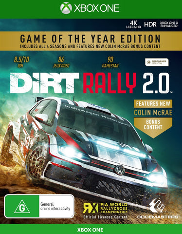 DiRT Rally 2.0 Game of the Year - Xbox One