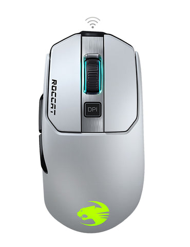ROCCAT Kain 202 Wireless Gaming Mouse - White - PC Games