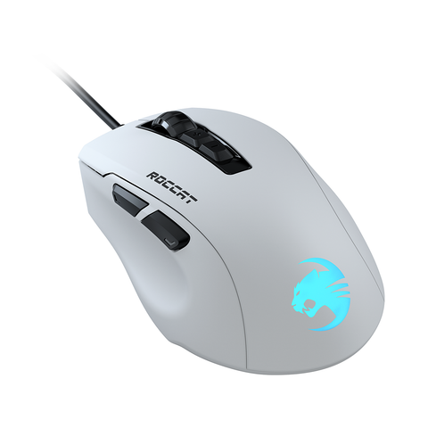 ROCCAT Kone Pure Ultra Gaming Mouse - White - PC Games