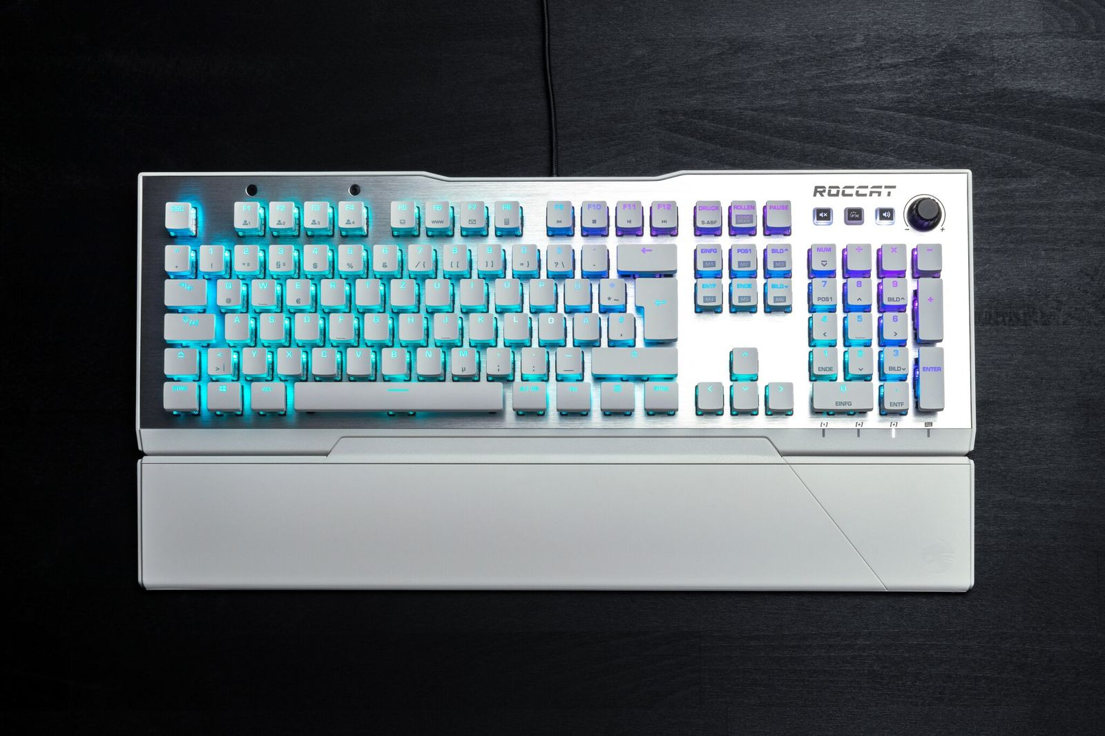 ROCCAT Vulcan 122 AIMO RGB Mechanical Gaming Keyboard - White - PC Games