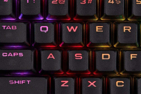 Corsair PBT Double-shot Keycaps - Black - PC Games