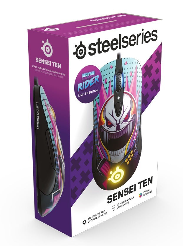 Steelseries Sensei Ten Gaming Mouse - Neon Rider Edition - PC Games