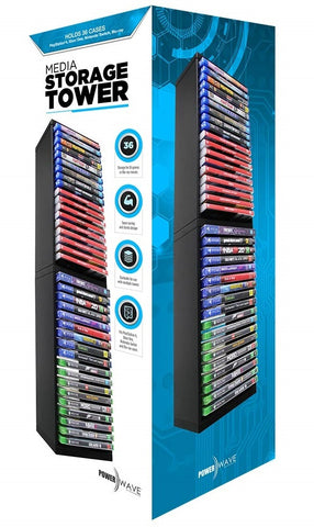 Powerwave Media Storage Tower - PS4