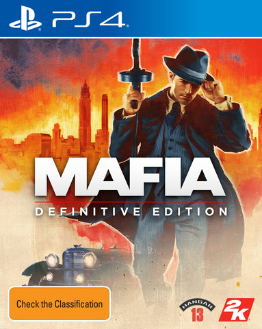 Mafia Definitive Edition - PS4
