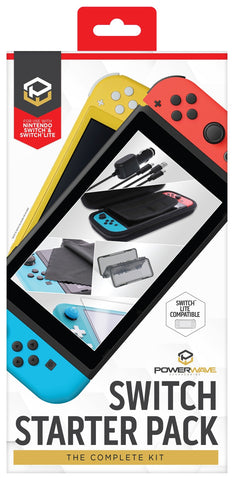 Powerwave Switch Accessory Starter Pack - Nintendo Switch
