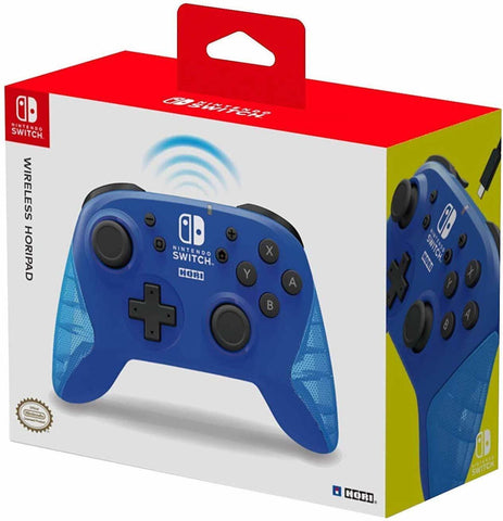 Hori Switch Wireless HORIPAD (Blue) - Nintendo Switch