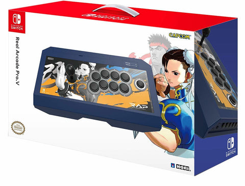 Hori Switch Real Arcade Pro Street Fighter (Chun-Li) - Nintendo Switch