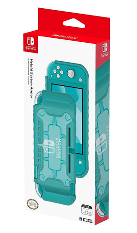 Switch Lite Hybrid System Armor (Turquoise) by Hori - Nintendo Switch