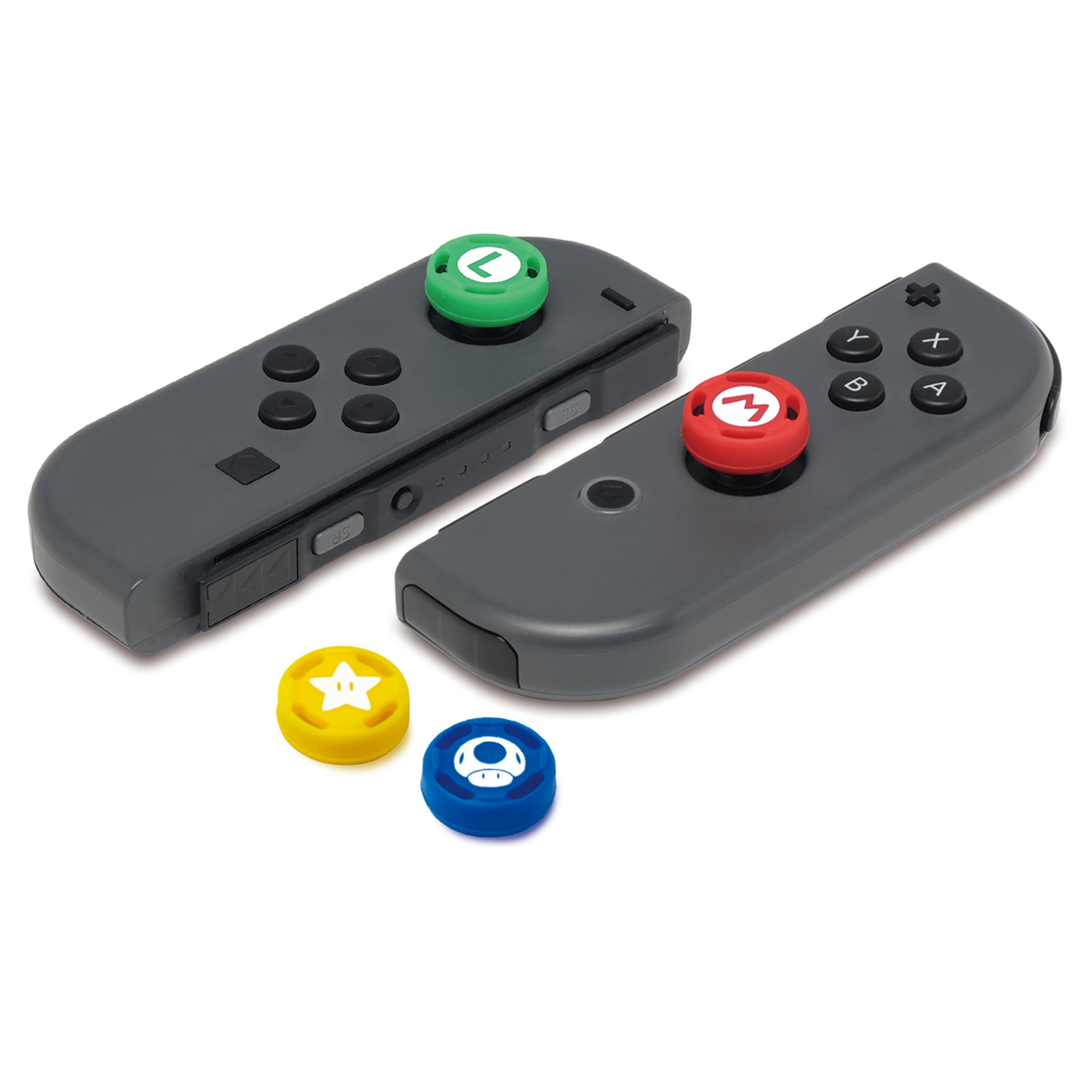 Hori Switch Analog Cap Set (Mario) - Nintendo Switch